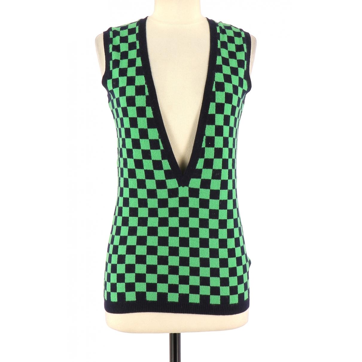 Eric Bompard \N Green Cashmere Knitwear for Women 36 FR