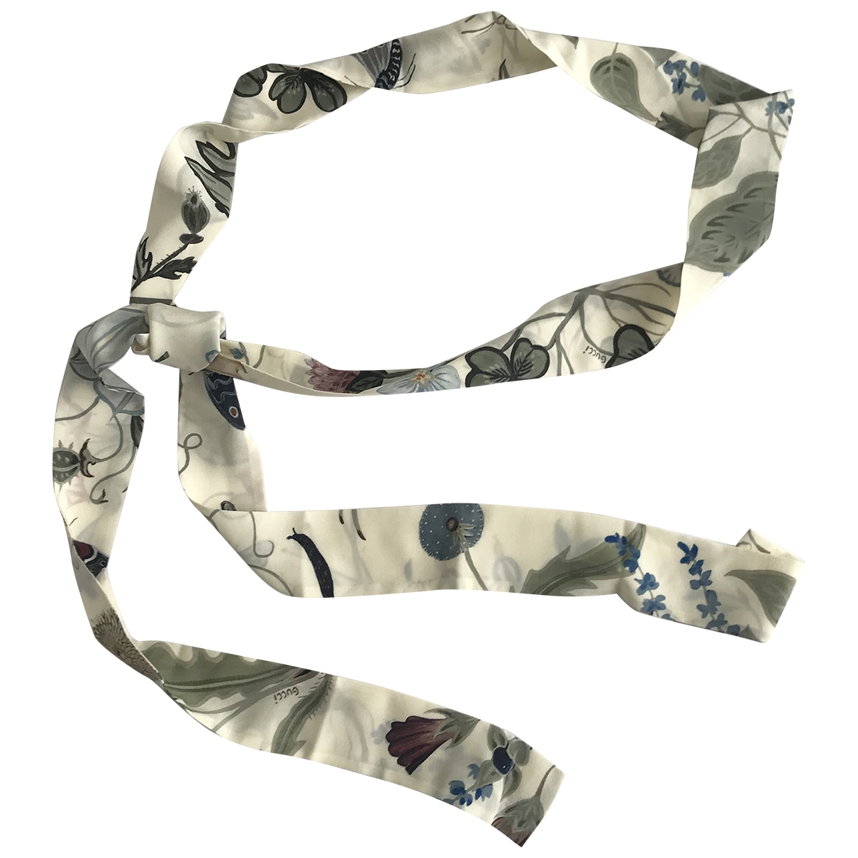 Gucci \N White Silk scarf for Women \N