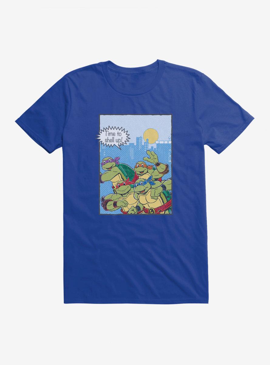 Teenage Mutant Ninja Turtles Comic Strip Run T-Shirt