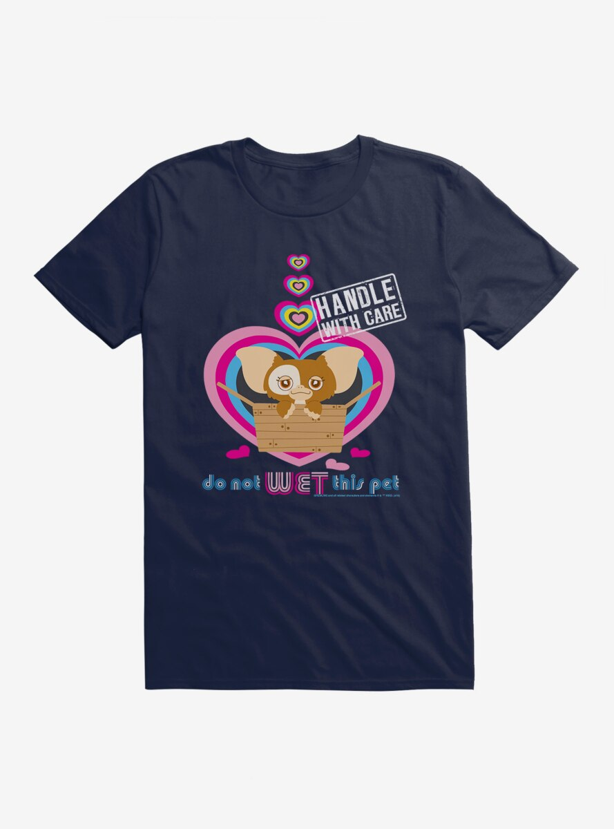 Gremlins Handle With Care Do Not Wet T-Shirt