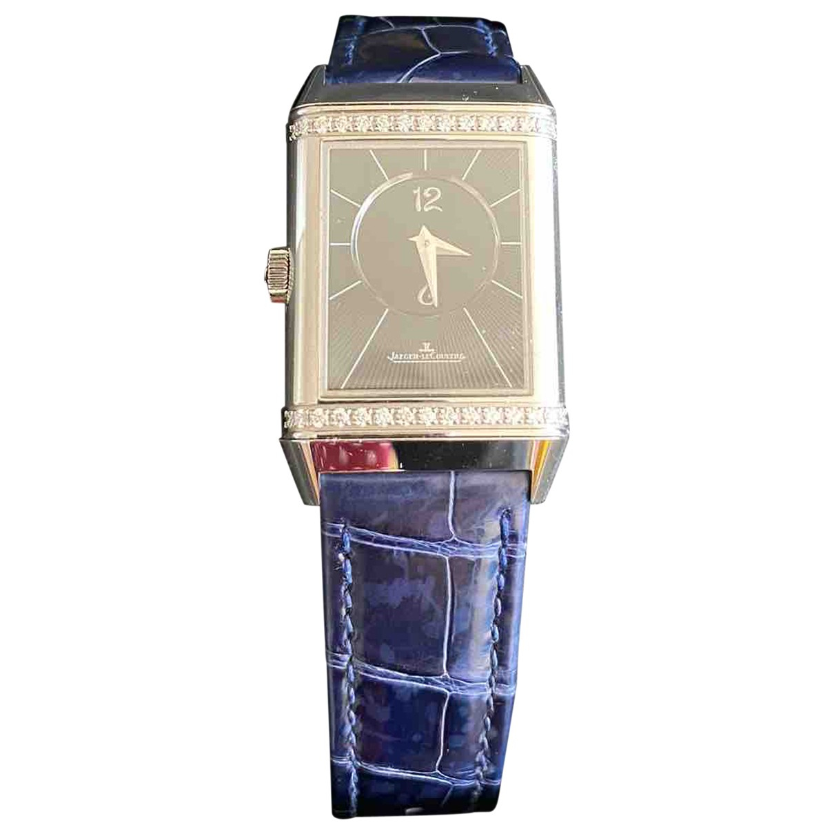 Jaeger-lecoultre Reverso Duetto Blue Steel watch for Women \N