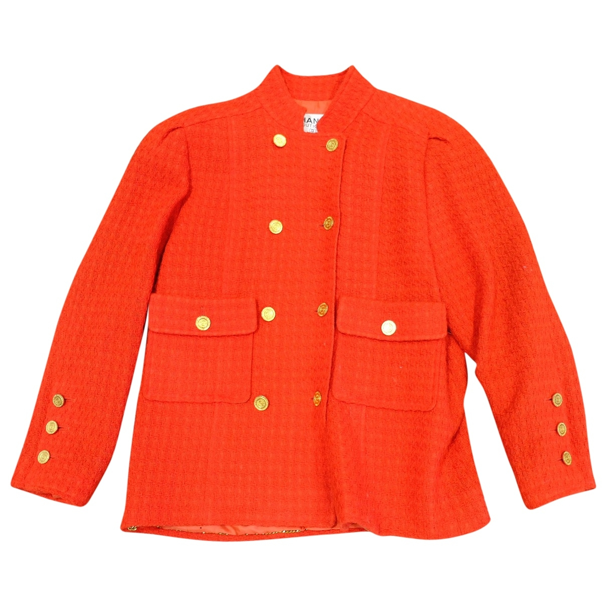 Chanel \N Red Wool jacket for Women 32 FR