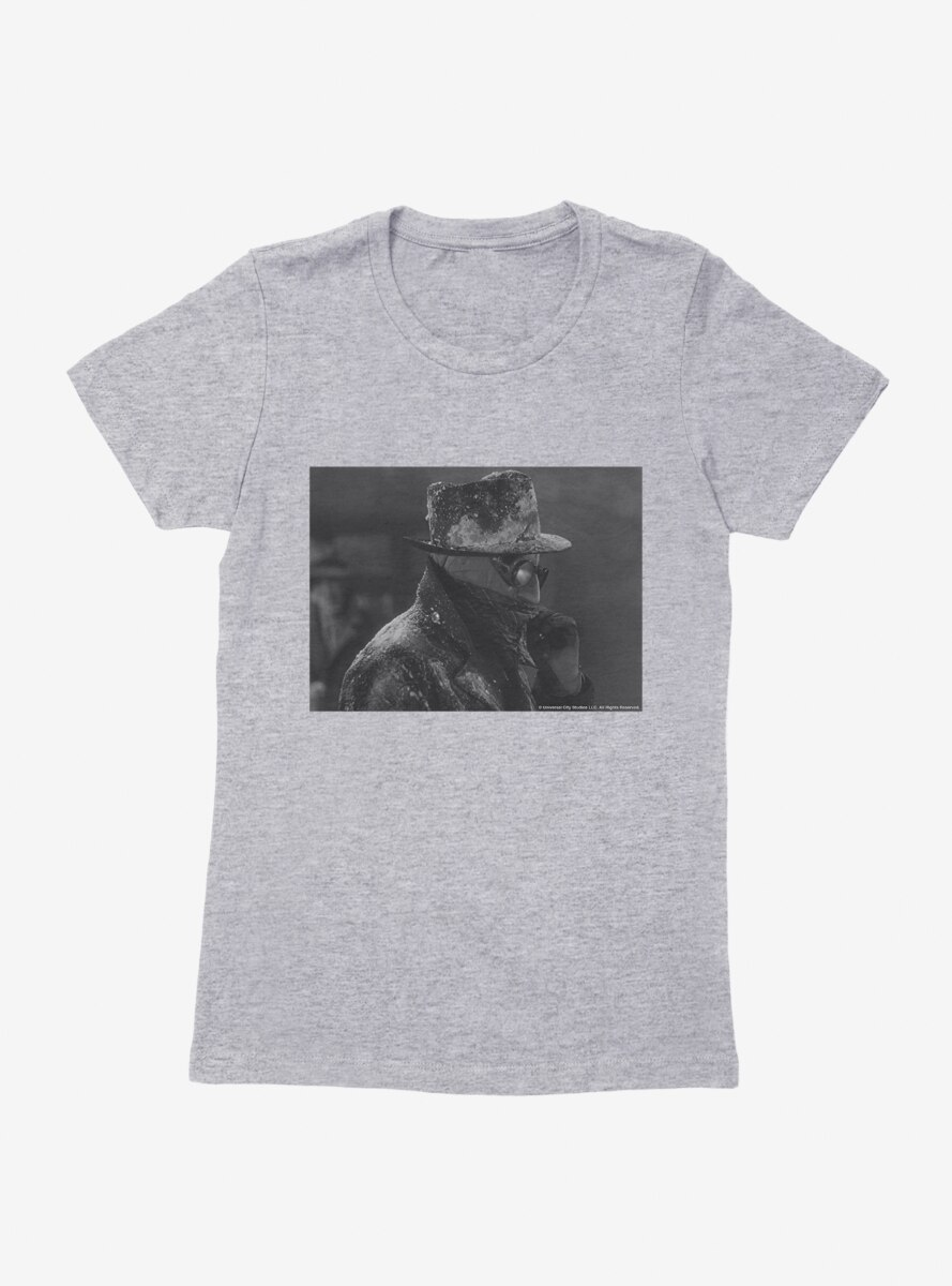 The Invisible Man Profile Womens T-Shirt