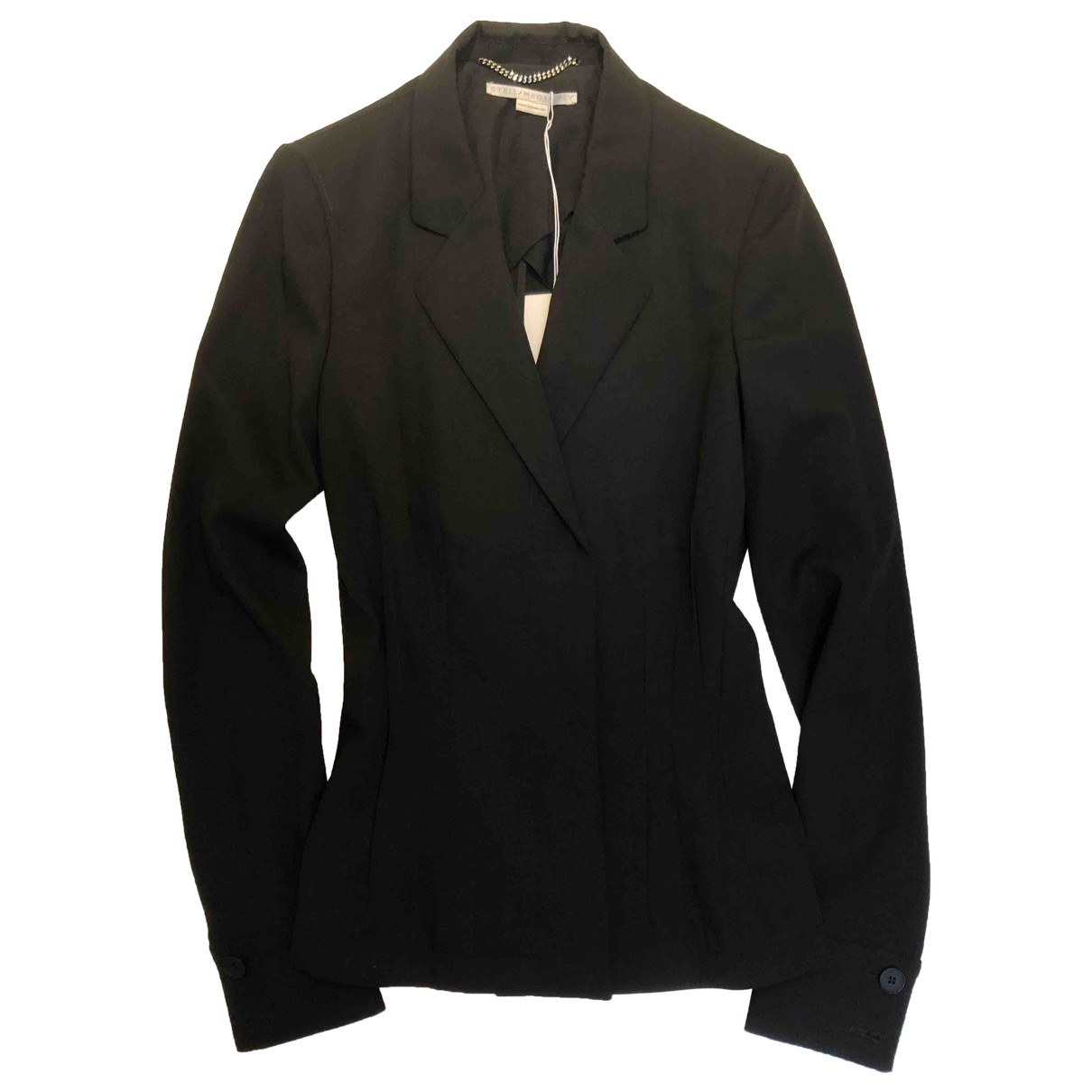 Stella Mccartney \N Black Wool jacket for Women 38 IT