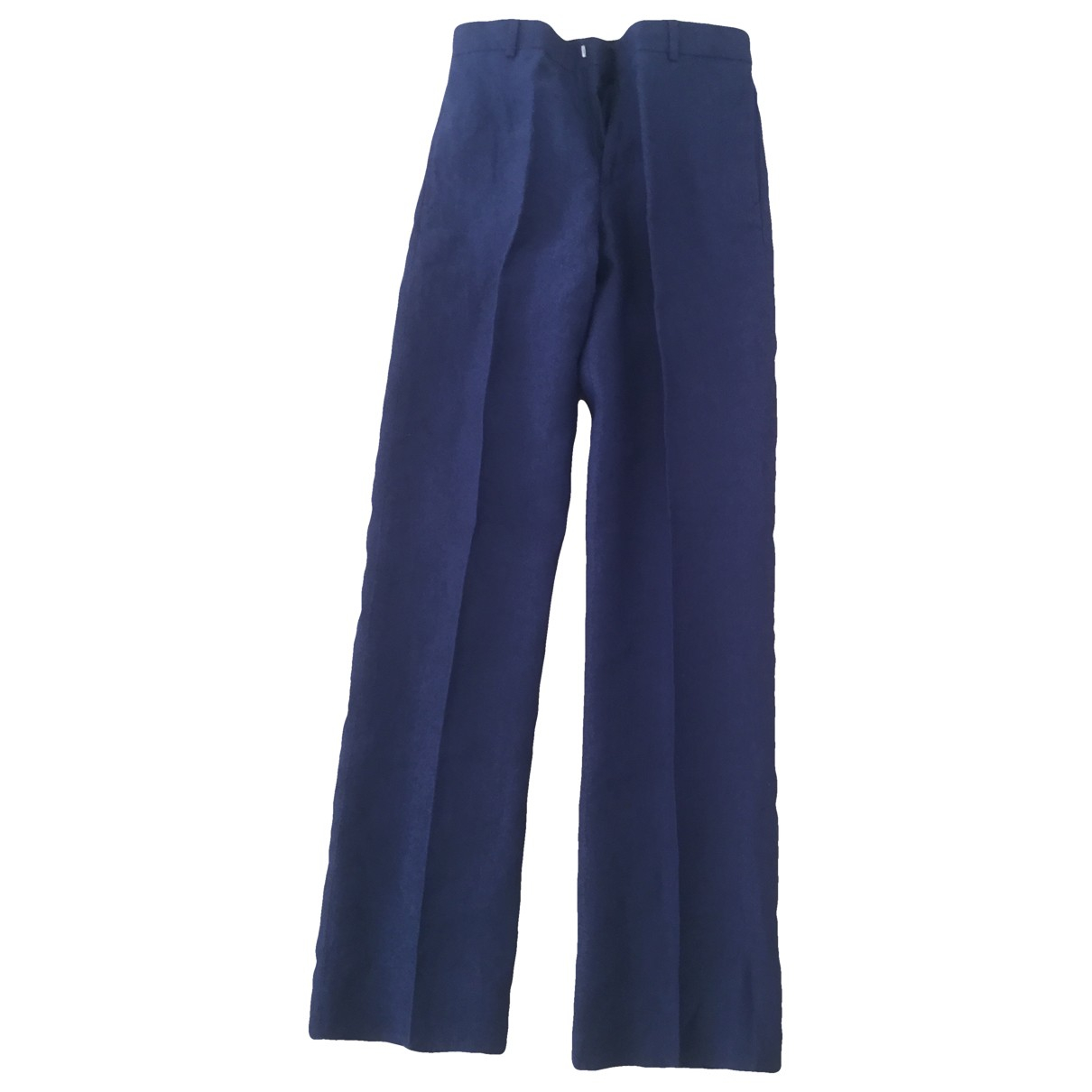 Polo Ralph Lauren \N Blue Linen Trousers for Kids 14 years - S UK