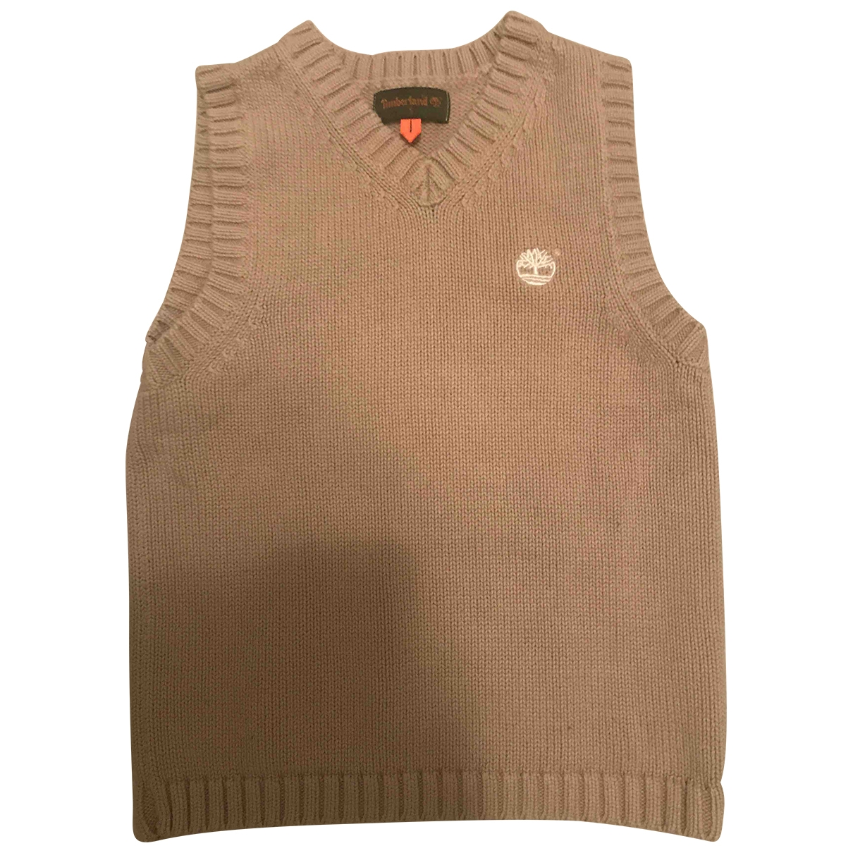 Timberland \N Beige Cotton Knitwear for Kids 5 years - up to 108cm FR