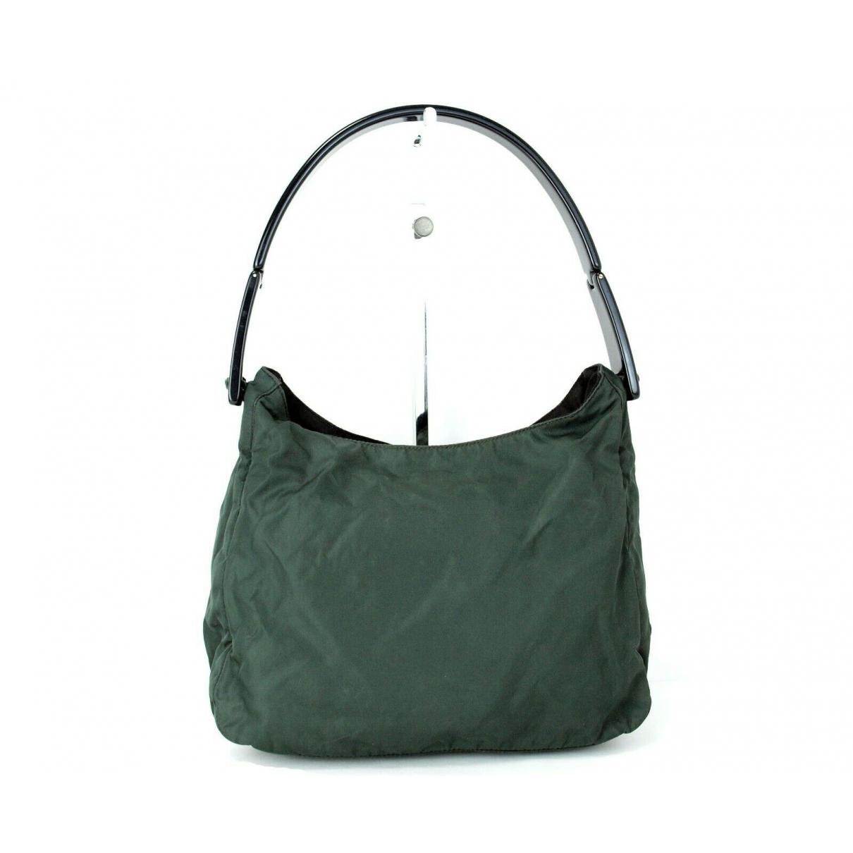 Prada \N Green Leather handbag for Women \N