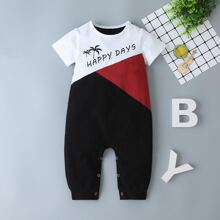 Baby Boy Cut And Sew Jumpsuit