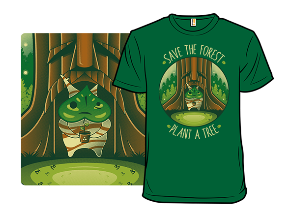Save The Forest T Shirt