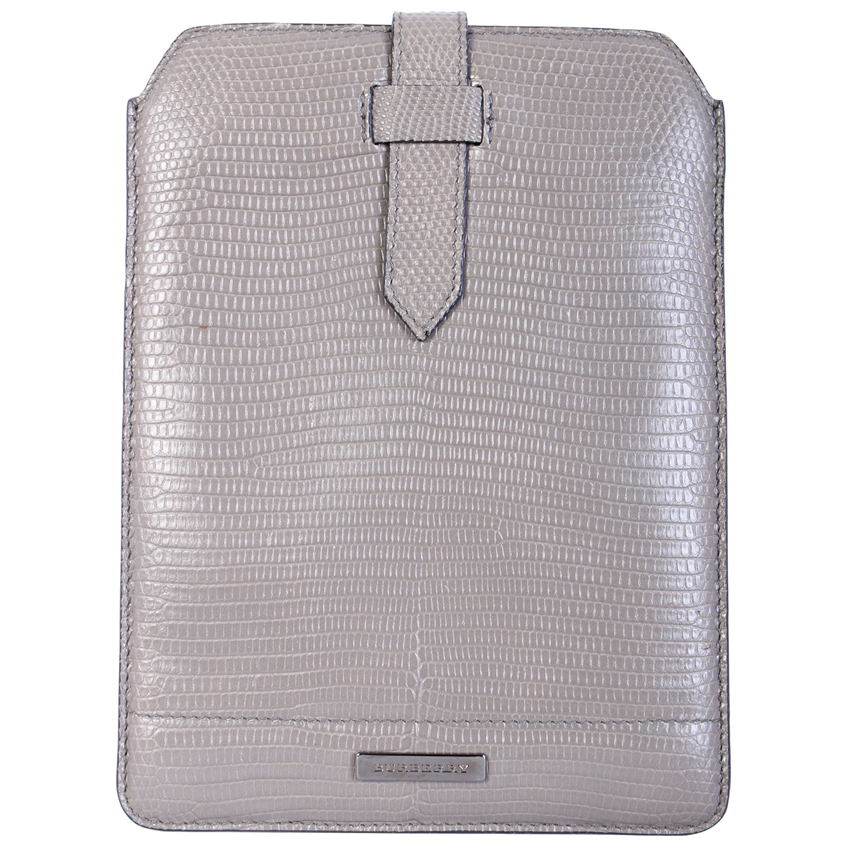 Burberry \N Grey Leather Accessories for Life & Living \N