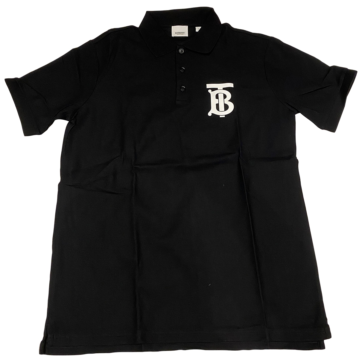 Burberry \N Black Cotton Polo shirts for Men S International