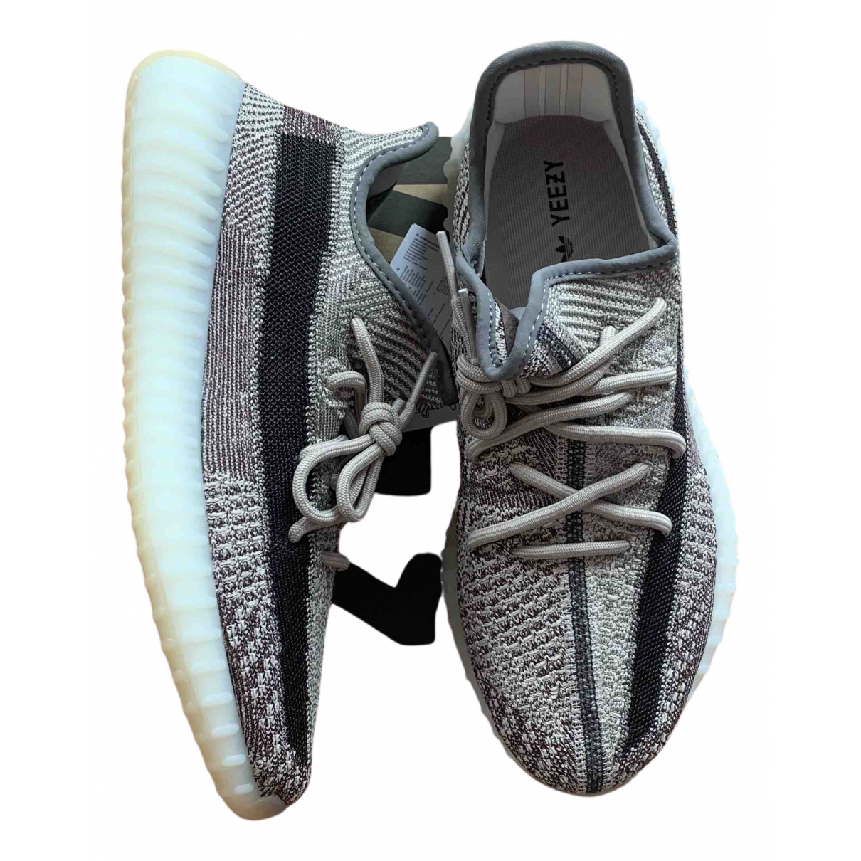 Yeezy X Adidas Boost 350 V2 Grey Cloth Trainers for Men 9.5 UK