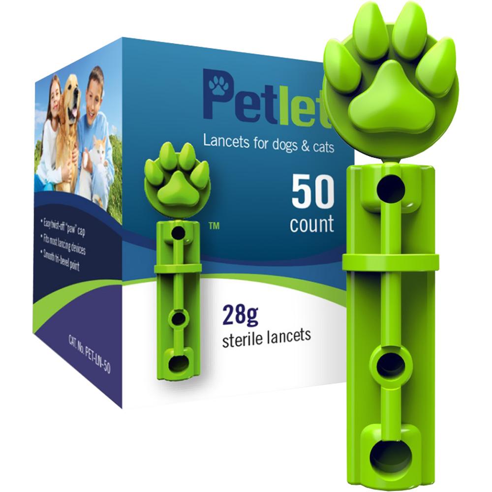 PetLet Lancets (50 count)