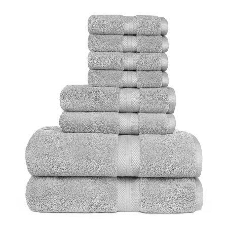 American Dawn Sarajane 8-pc. Bath Towel Set, One Size , Gray