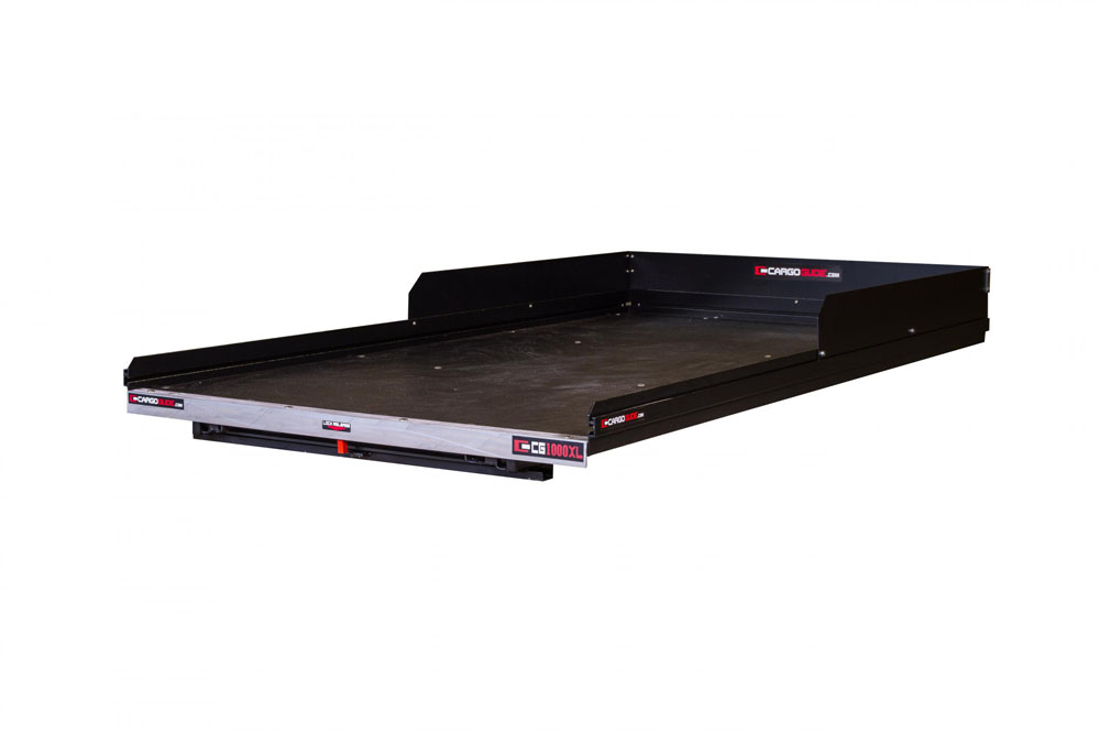 Slide Out Truck Bed Tray 1000 lb capacity 100% Extension 20 Bearings  Alum Tie-Down Rails Plywood Deck Fits 6FT Frontier King/Crew Cab and Ford Ranger