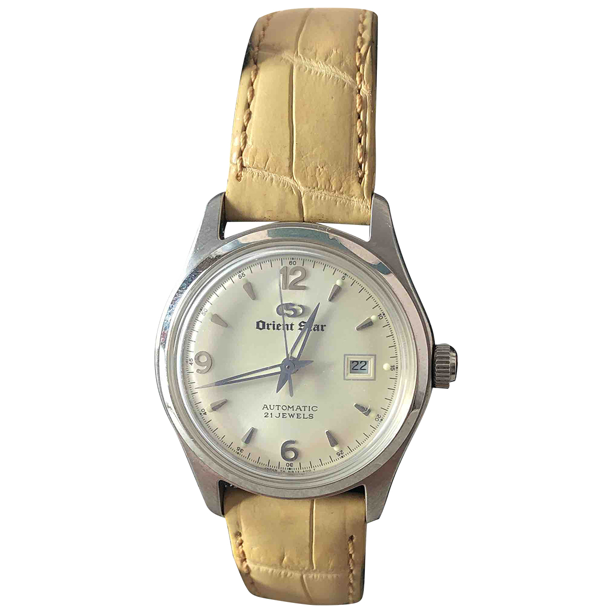 Non Signé / Unsigned \N Camel Steel watch for Women \N