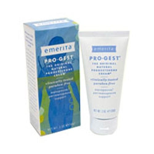 Pro-Gest Cream (Paraben Free) 2 Oz by Emerita