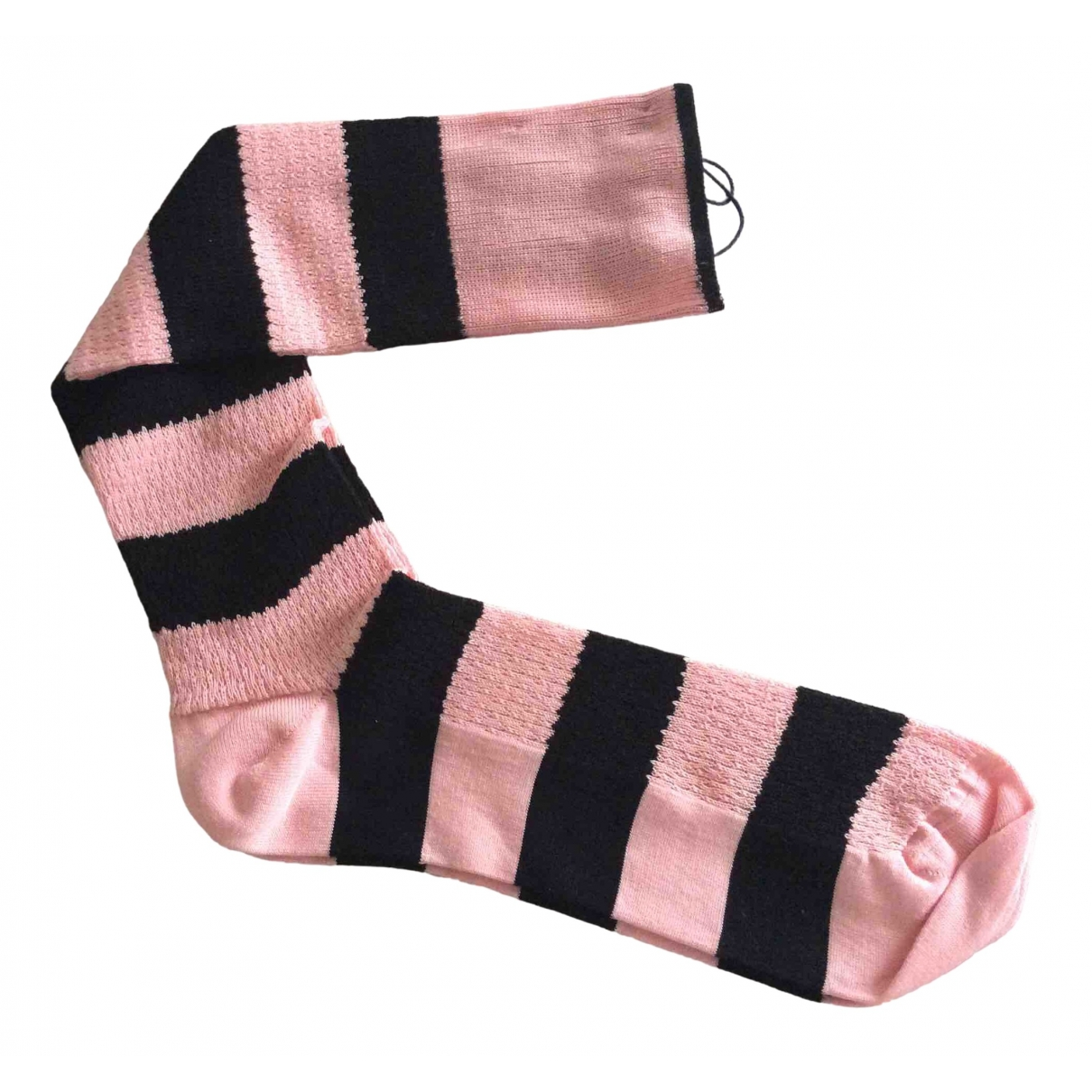 Prada \N Pink Cotton Gloves for Men L International