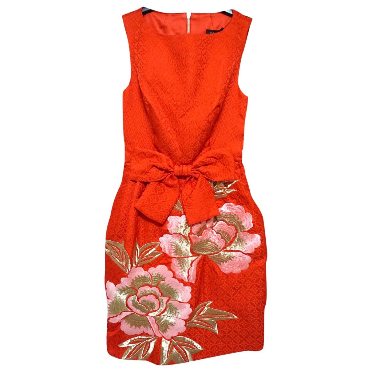 Ted Baker \N Orange dress for Women 6 UK