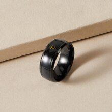 Men Celsius Pattern Ring