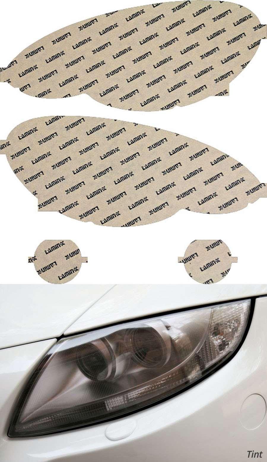 Chrysler PT Cruiser 06-10 Tint Headlight Covers Lamin-X C011T