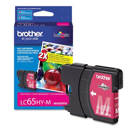 Brother MFC-6490CW Original Magenta Ink Cartridge, High Yield