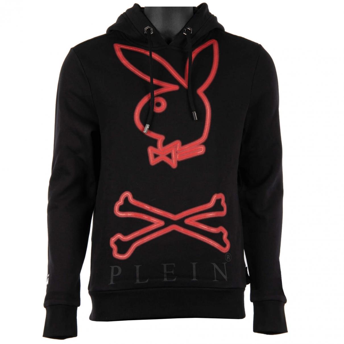 Philipp Plein \N Black Cotton Knitwear & Sweatshirts for Men L International