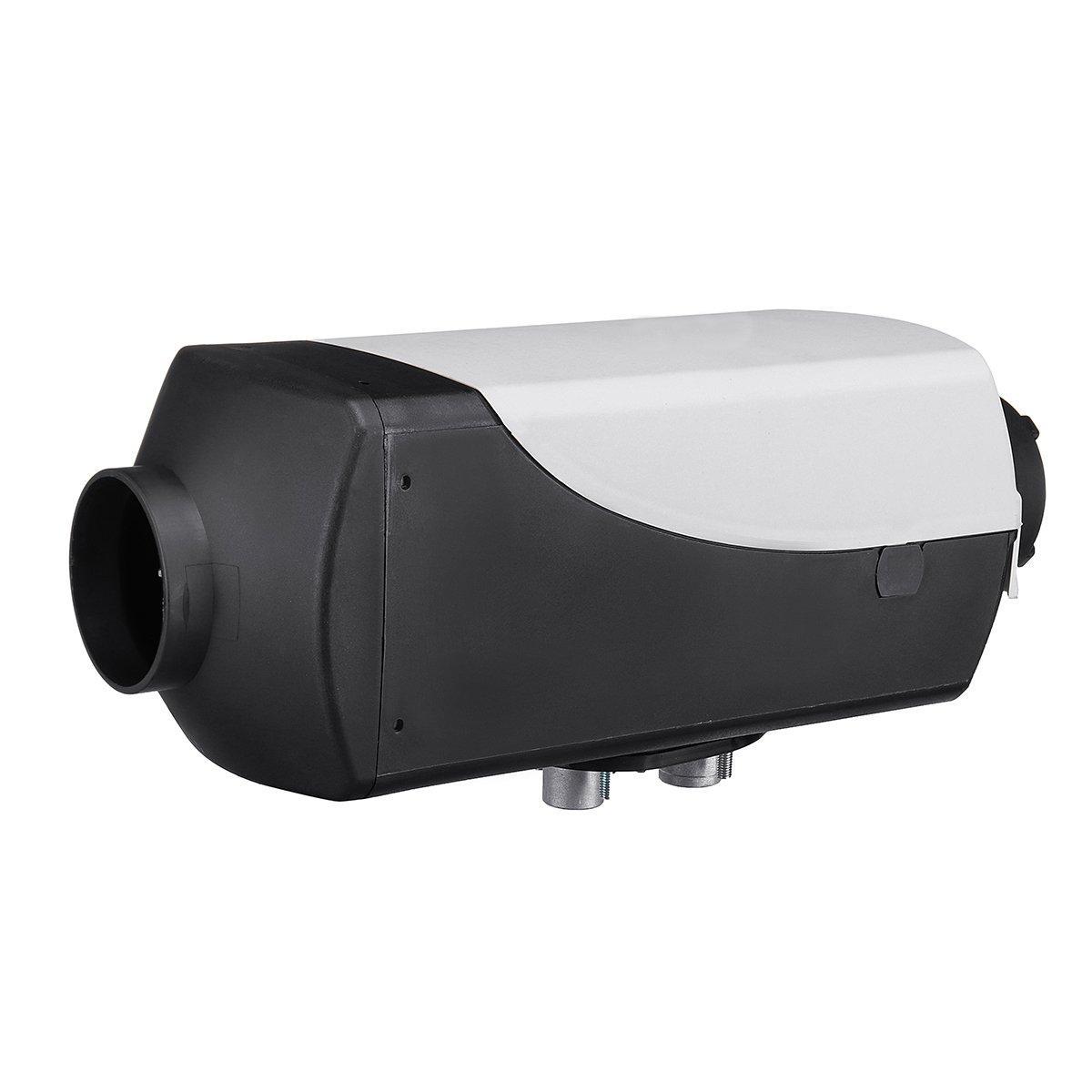 8KW Remote Control 12V LCD Silencer Parking Heater Air Parking Heating Machinie Diesel Air Heater Kit