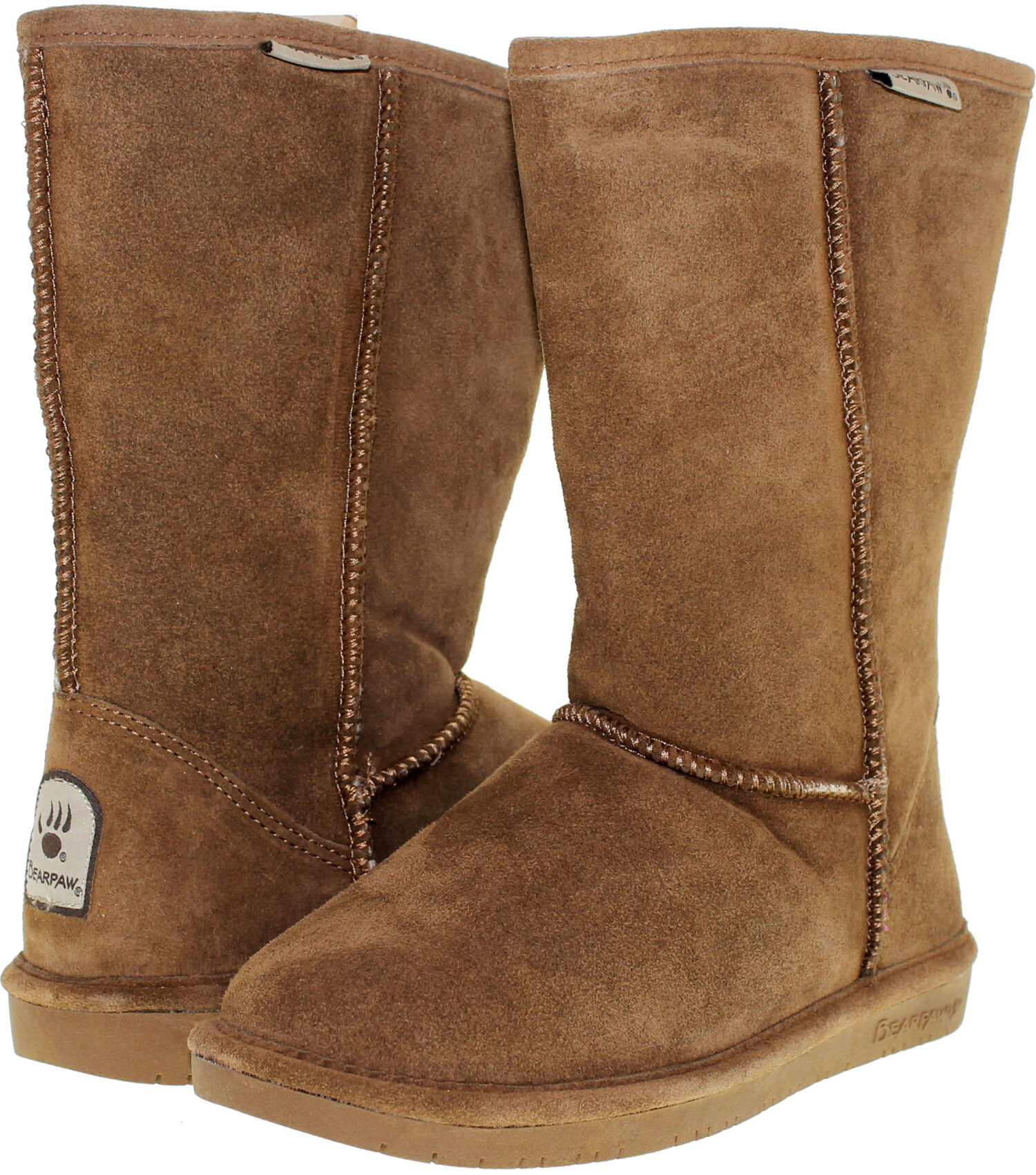 Bearpaw Women's Emma Hickory Mid-Calf Suede Boot - 9M