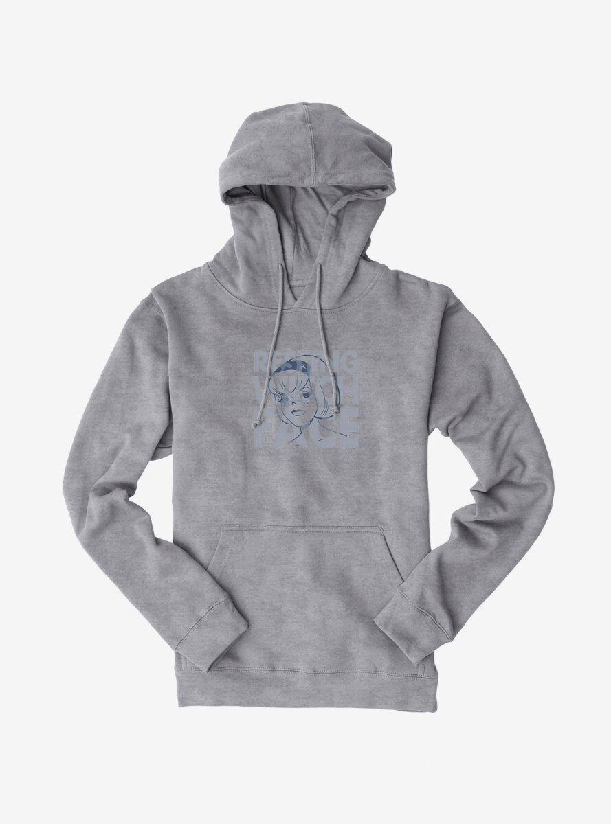 Archie Comics Chilling Adventures of Sabrina Resting Witch Face Hoodie