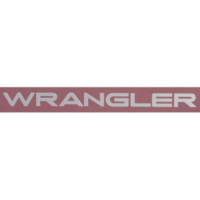 Jeep Wrangler Decal (Silver) - 5FC83TA2