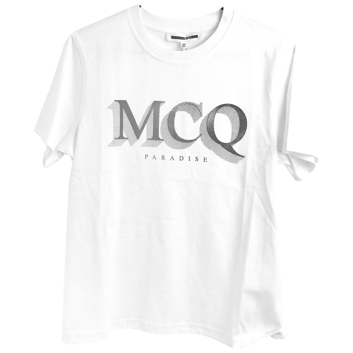 Mcq \N White Cotton  top for Women S International