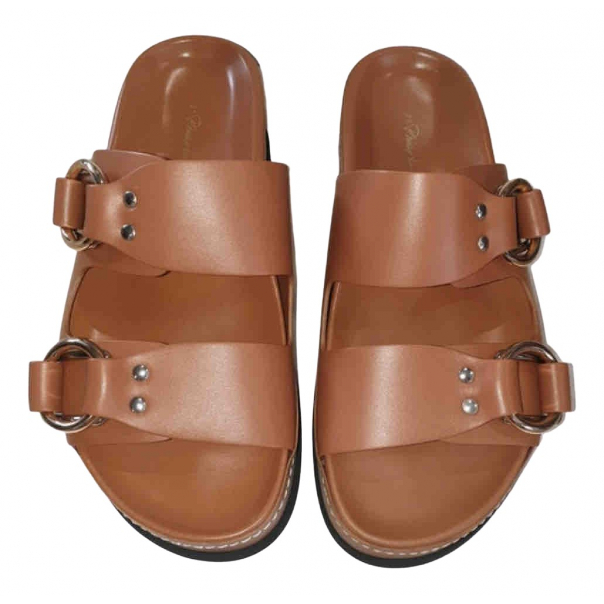 3.1 Phillip Lim \N Brown Leather Sandals for Women 39 EU
