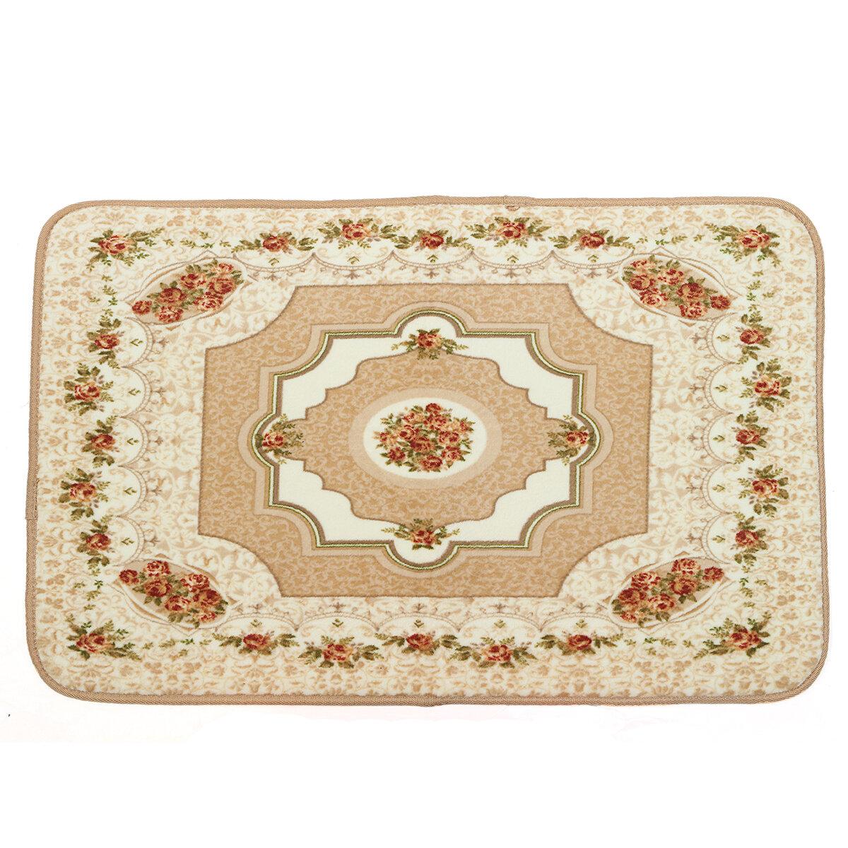European Style Court Rose Fashionable Carpet Living Room Bedroom Sofa Table Bedside Floor Mats