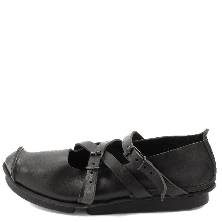 Trippen, Travel f Penna Women's Slip-on Shoes, black Größe 37