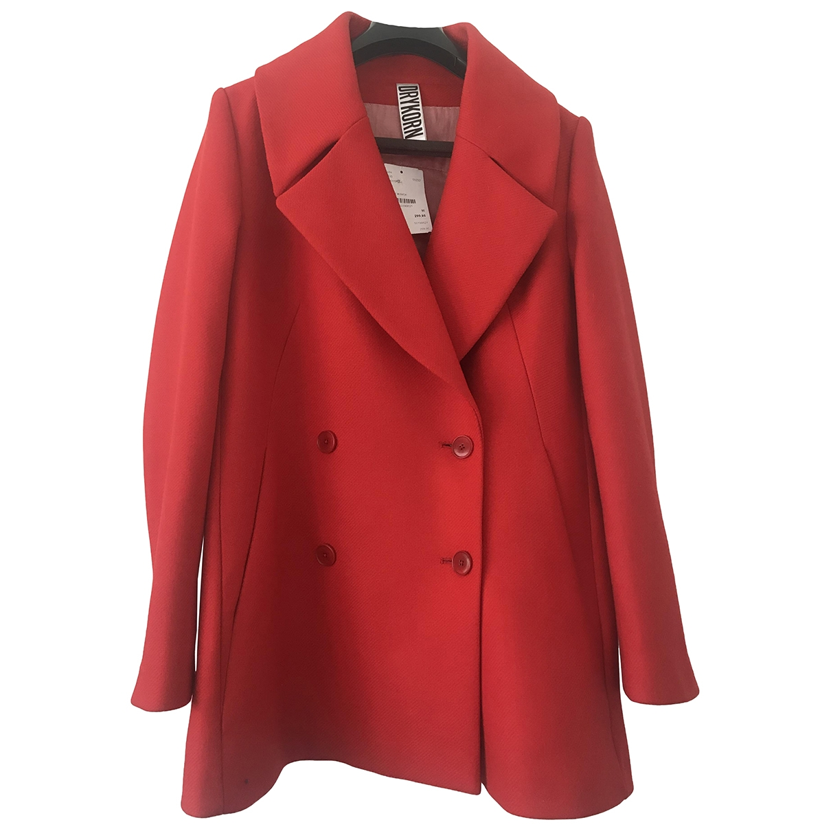 Drykorn \N Red Cotton coat for Women M International