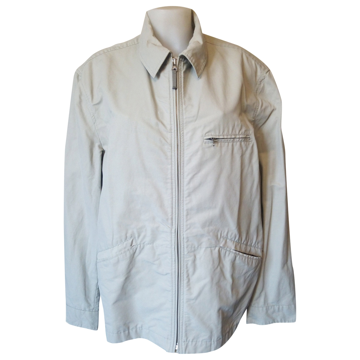 Gas \N Grey Cotton jacket  for Men L International