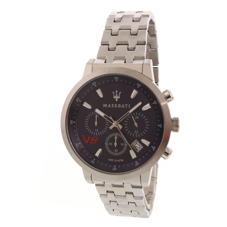 Maserati Men's Granturismo R8873134002 Chronograph Silver Stainless-Steel Sports Watch