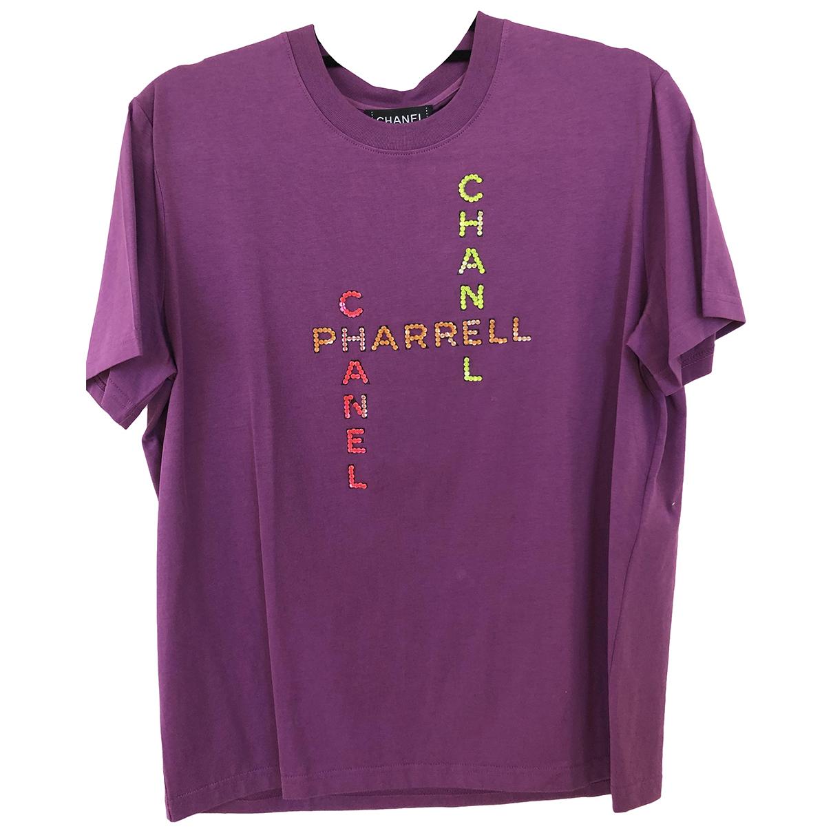 Chanel X Pharrell Williams \N Purple Cotton T-shirts for Men M International