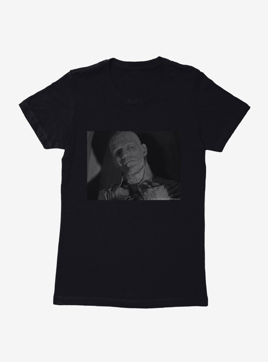 The Mummy Resting Place Womens T-Shirt