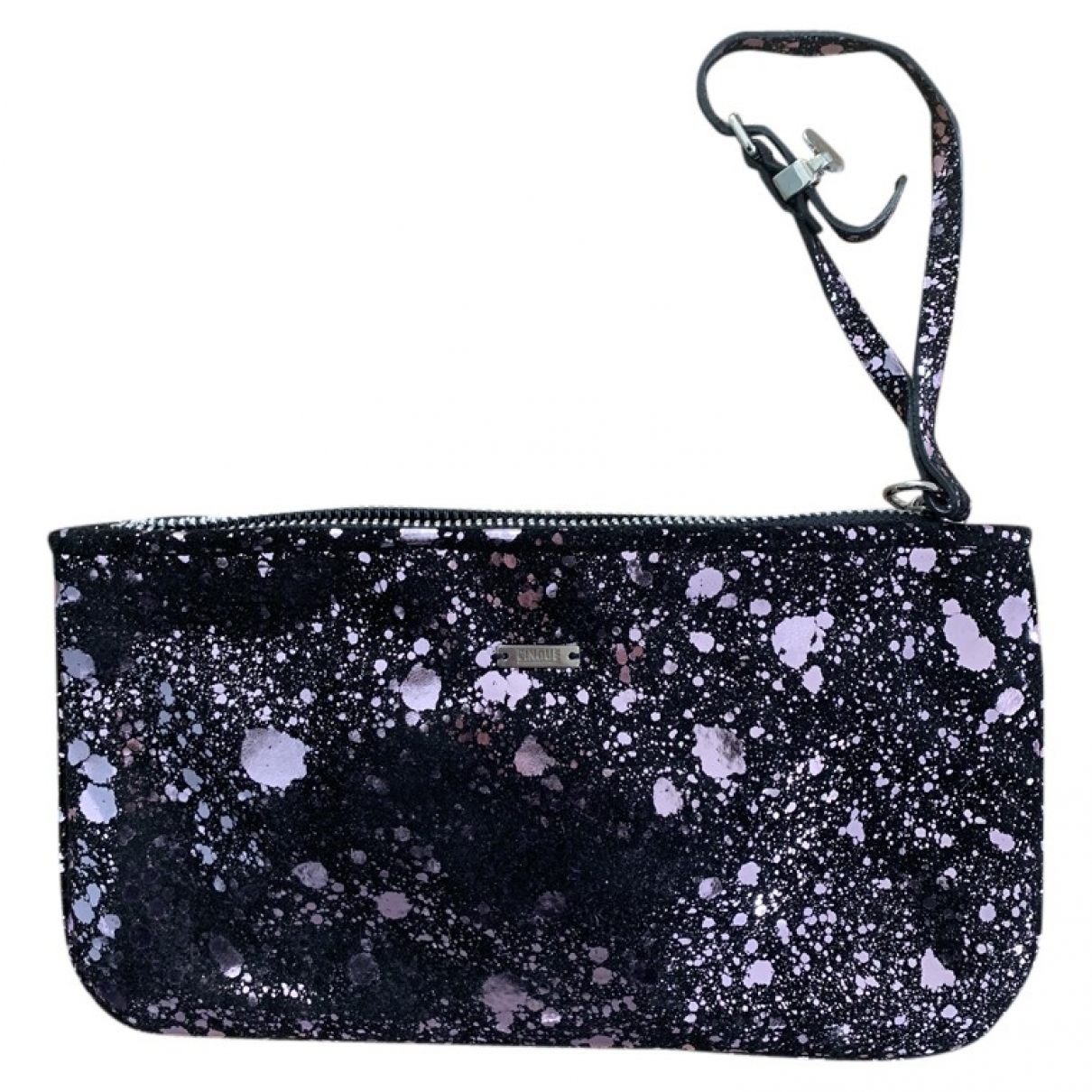 Non Signé / Unsigned \N Metallic Suede Clutch bag for Women \N