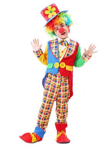 Milanoo Mardi Gras Kids Clown Costumes Child Circus Cosplay Outfits