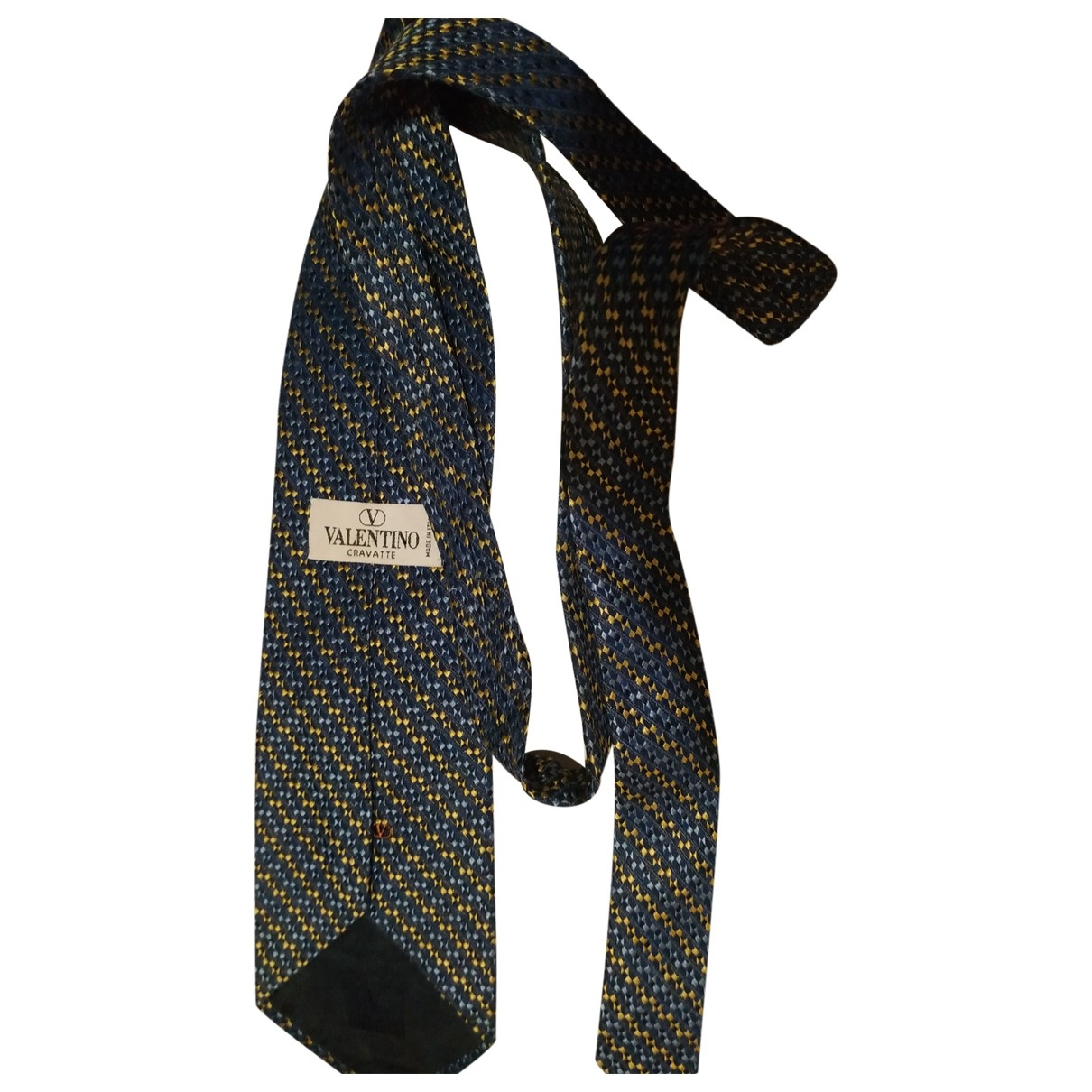 Valentino Garavani \N Blue Silk Ties for Men \N