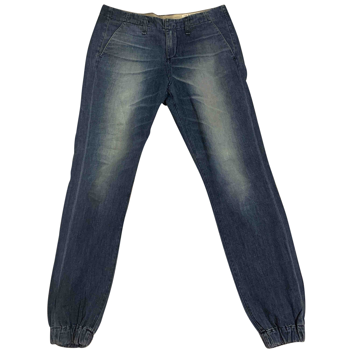 Rag & Bone \N Blue Cotton Jeans for Women 26 US