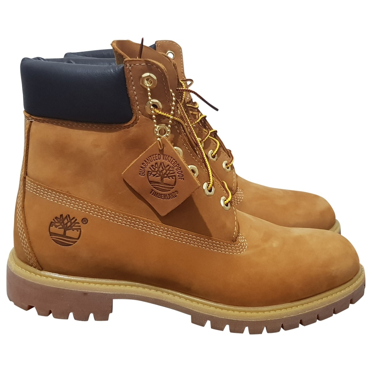 Timberland \N Brown Suede Boots for Men 9.5 US