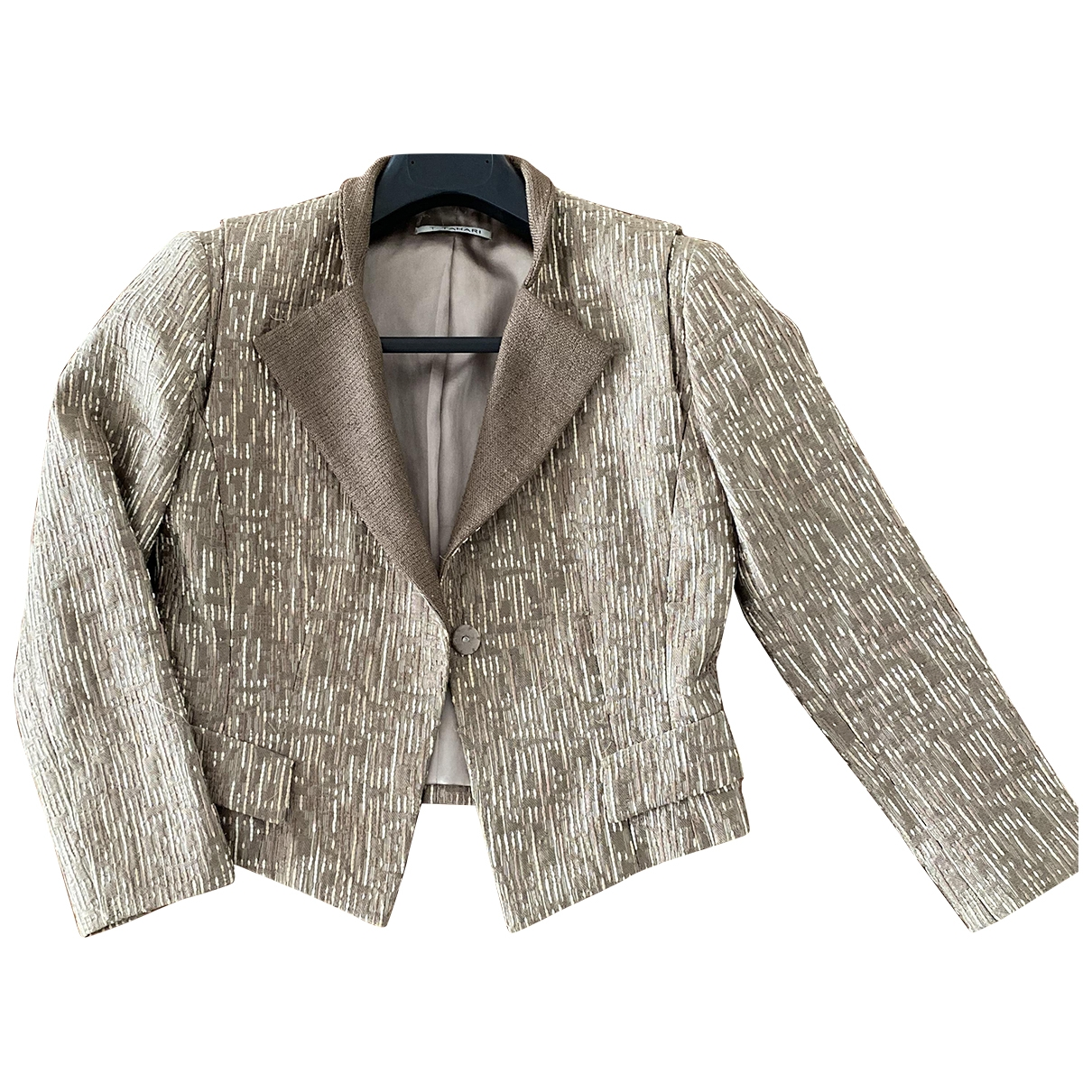 Elie Tahari \N Metallic Tweed jacket for Women 2 US