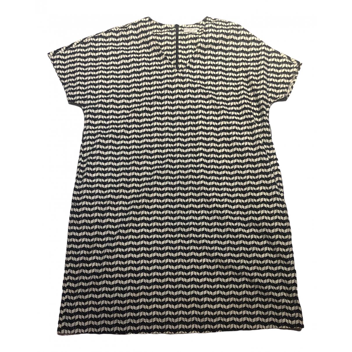 Non Signé / Unsigned \N Multicolour Cotton dress for Women 46 FR