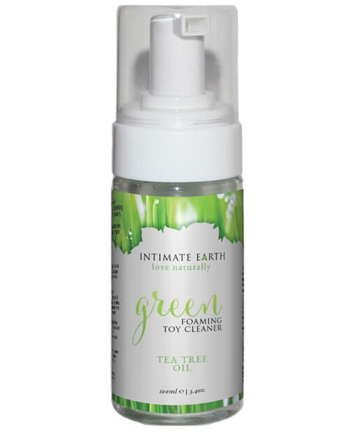 Intimate Earth Green Tea Tree Oil Foaming 3.4 oz.