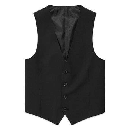 Collection by Michael Strahan Suit Vests - Boys 8-20, X-large (18-20) , Black