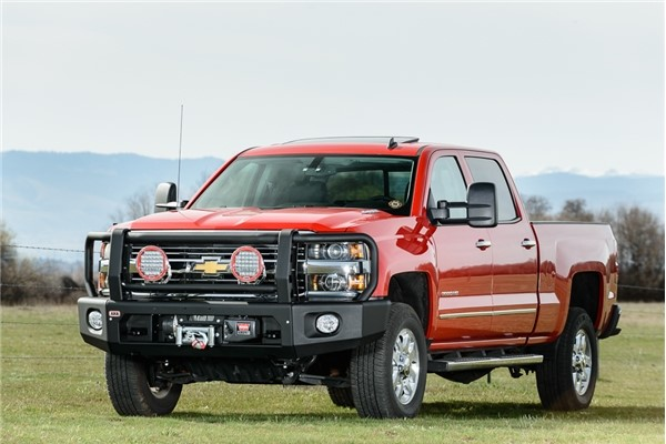ARB Full Deluxe Modular Winch Bar Kit Chevrolet Silverado 2500 | 3500